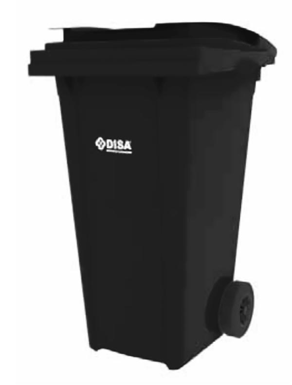 Contenedor 240 negro